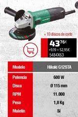 Oferta de Amoladora por 43,76€