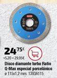 Oferta de Discos de corte por 24,75€