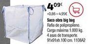 Oferta de Sacos de escombros por 4,09€