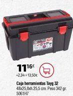 Oferta de Caja de herramientas por 11,16€