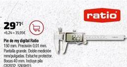 Oferta de Pie de rey Ratio por 29,71€