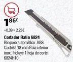 Oferta de Cutter por 1,86€