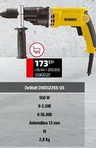 Oferta de Taladro Dewalt por 173,51€