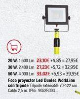 Oferta de Foco proyector por 23,1€