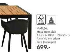Oferta de Mesa extensible MATILDA  por 699€