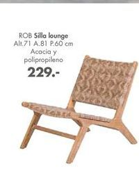 Oferta de Sillas lounge ROB  por 229€