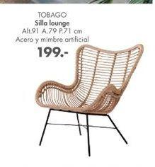 Oferta de Sillas lounge Tobago  por 199€