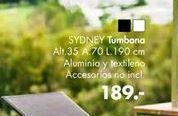 Oferta de Tumbonas SYDNEY  por 189€