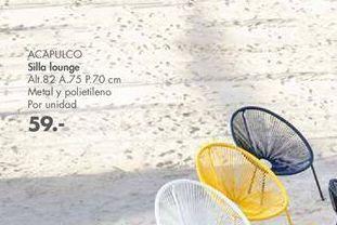 Oferta de Sillas LOUNGE Acapulco  por 59€