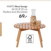 Oferta de Mesa lounge MARYS  por 69€