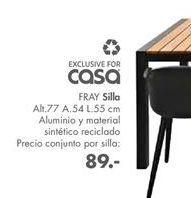 Oferta de Sillas Fray por 89€
