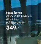 Oferta de Banco lounge por 349€