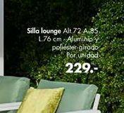 Oferta de Sillas lounge Palme  por 229€