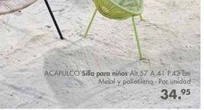 Oferta de Silla para niños ACAPULCO  por 34,95€