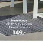 Oferta de Mesa lounge palme por 149€