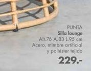 Oferta de Sillas Lounge Punta por 229€