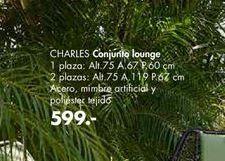 Oferta de Conjunto lounge CHARLES  por 599€