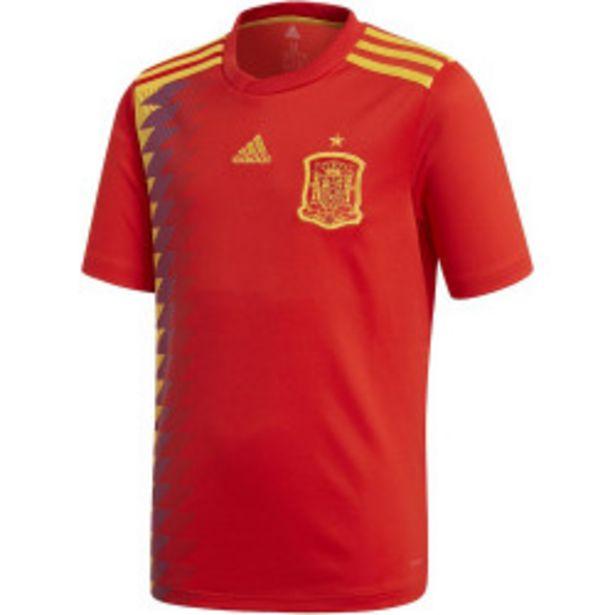 Oferta de Camiseta adidas Selección Española 17/18 Jr por 39,99€