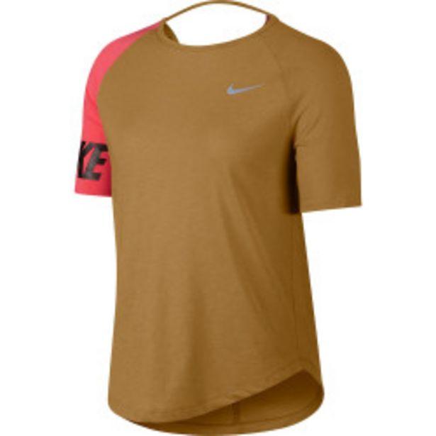Oferta de Camiseta de running Nike Miler SS Top por 17,99€