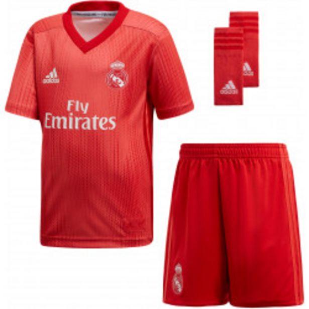 Oferta de Kit adidas Real Madrid 3a Equipación 18/19 por 34,99€
