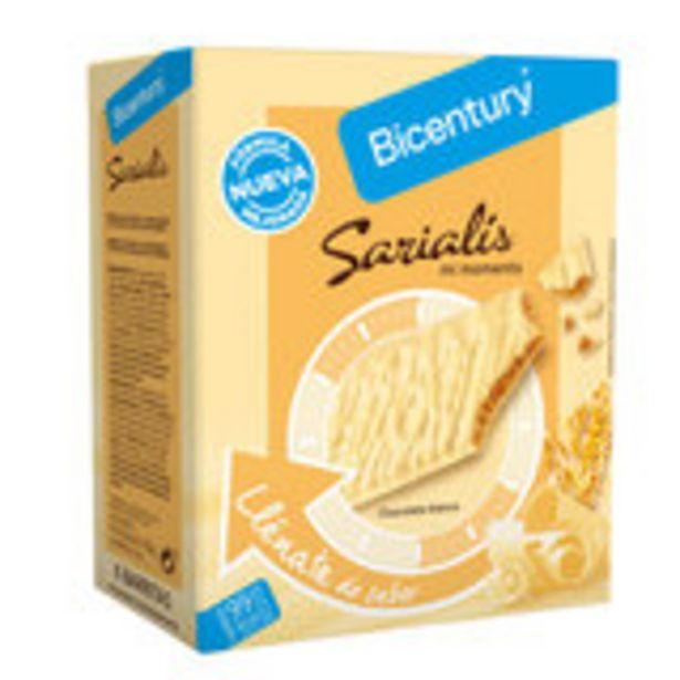 Oferta de Sarialis barritas chocolate blanco 120 gr por 2,39€