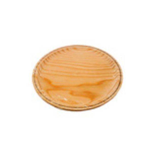 Oferta de Tabla para pulpo de madera 22 cm por 1,83€