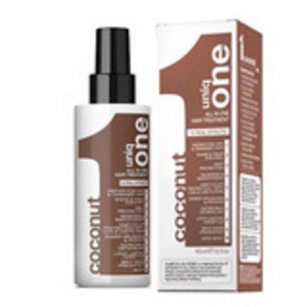 Oferta de Revlon uniq one hair treatment tratamiento reparador capilar coco 150 ml por 6,45€