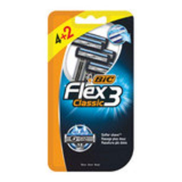 Oferta de Flex 3 classic maquinilla desechable 4 unidades por 2,99€