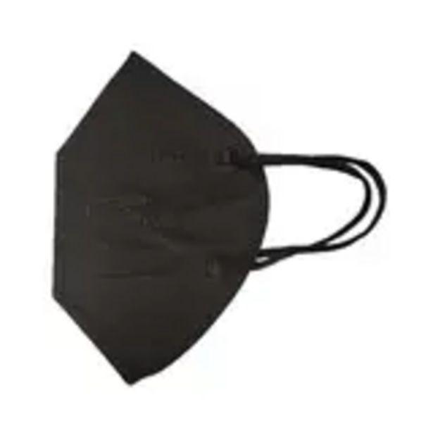 Oferta de Mascarilla negra autofiltrante sin valvula ffp2 20 unidades por 7,95€