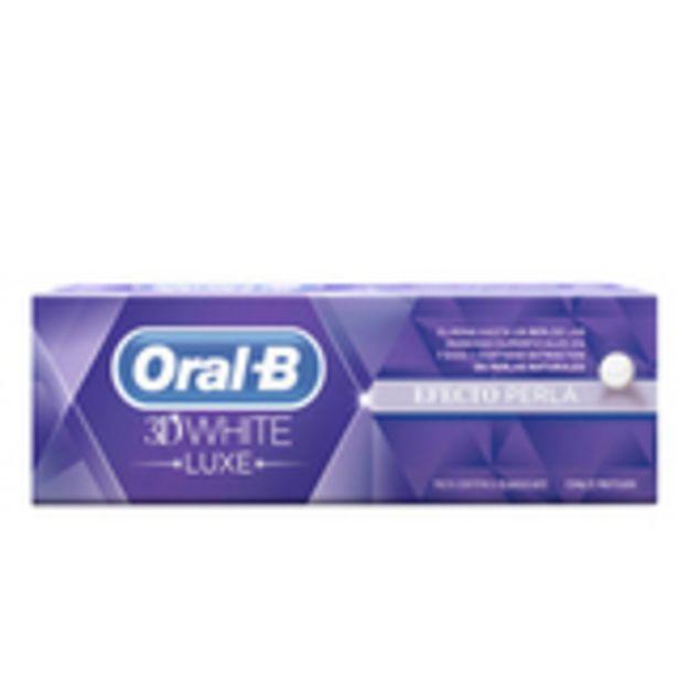 Oferta de 3d white luxe pasta dentífrica efecto perla 75 ml por 3,99€