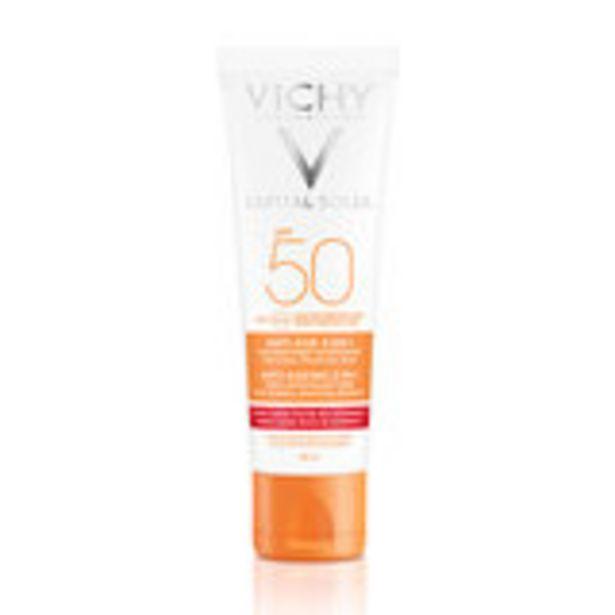 Oferta de Capital soleil crema solar facial antiedad spf 50 50 ml por 15,6€