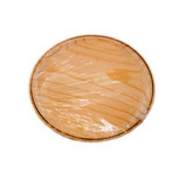 Oferta de Tabla para pulpo de madera 26 cm por 2,09€