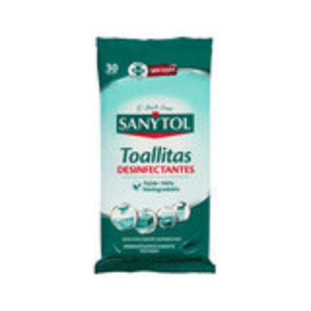 Oferta de Toallitas desinfectantes 30 unidades por 1,69€