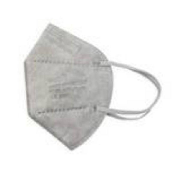 Oferta de Mascarilla oreja gris ffp2 5 un por 1,75€