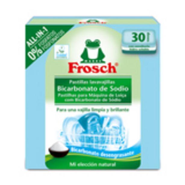 Oferta de Detergente lavavajillas pastillas 30 unidades por 4,48€