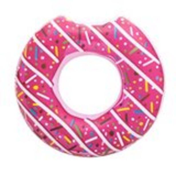 Oferta de Flotador donut Bestway Ø 107 cm rosa por 5,99€