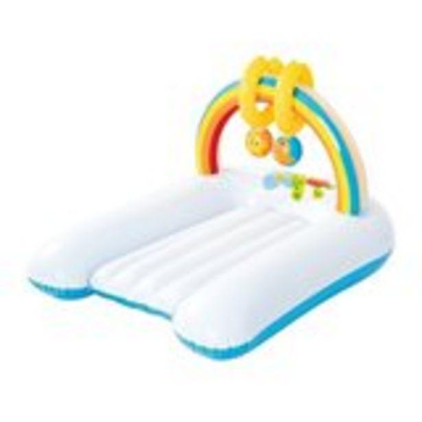 Oferta de Colchoneta hinchable cambiador Bestway con juguetes sonoros 81 x 63 cm por 5,99€