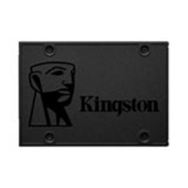 """Oferta de Disco sólido Kingston A400 480GB SATA III 2.5"""" / 6.35cm Lectura 500MB/S por 65€"""