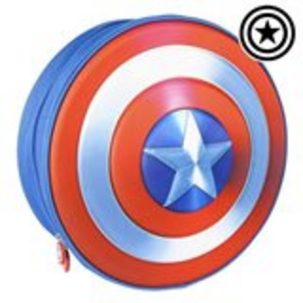 Oferta de Mochila Infantil 3D The Avengers Azul por 18€