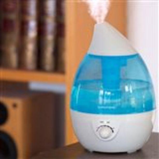 Oferta de Humidificador de aromas Grundig 2,7L 25W luz LED 7 colores por 18€