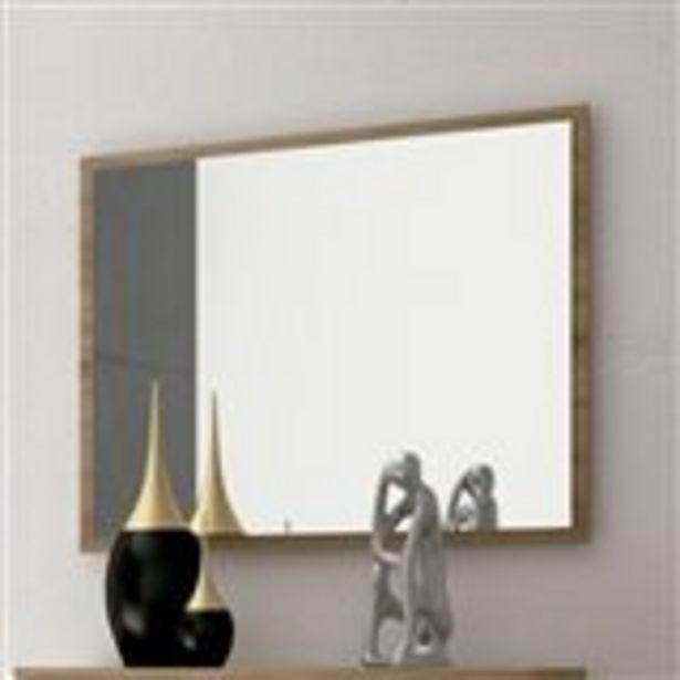 Oferta de Espejo de pared Priego con marco cambria 75x90x2 cm por 35€