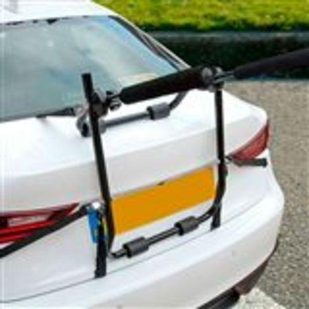 Oferta de Portabicicletas para coche Dunlop 2 bicicletas universal negro por 35€