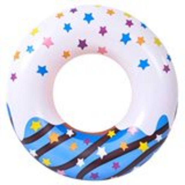 Oferta de Flotador diseño Donut Jumbo azul 115 cm por 5,99€