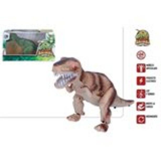 Oferta de Dinosaurio eléctrico con luz y sonido por 5,99€