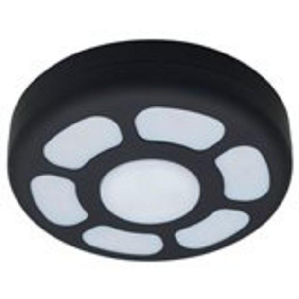 Oferta de Plafón camping 21 LED Negro 18 cm por 5,99€