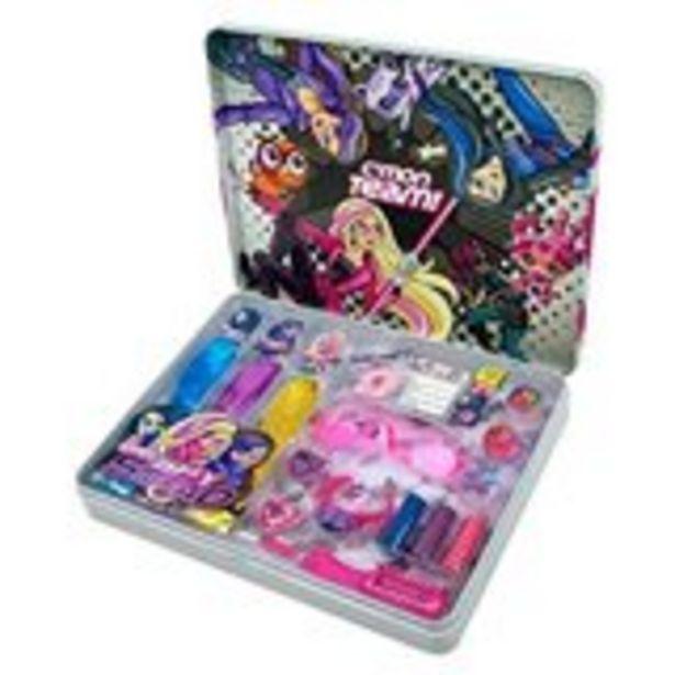 Oferta de Barbie caja lata de belleza Spy Squad +3 por 5,99€