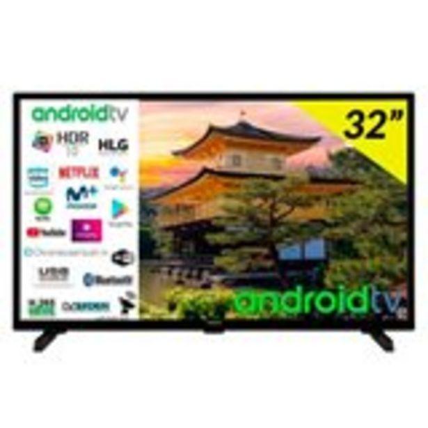"Oferta de Televisor Smart TV Hitachi 32HAE2351 32"" Android 9.0 HD Wifi Bluetooth por 206€"