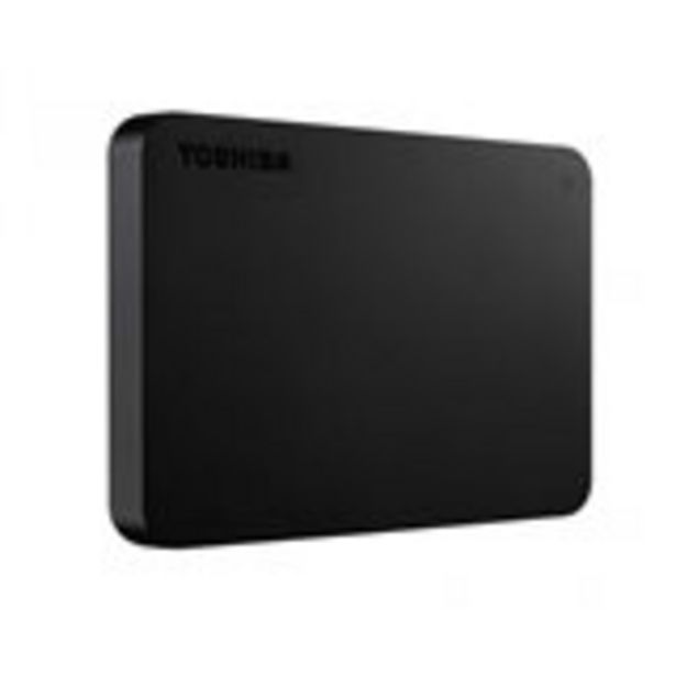 Oferta de Disco duro externo Canvio Basics Toshiba 2000GB USB 3,0 negro por 95,95€