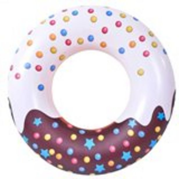 Oferta de Flotador diseño Donut Jumbo marrón 115 cm por 5,99€