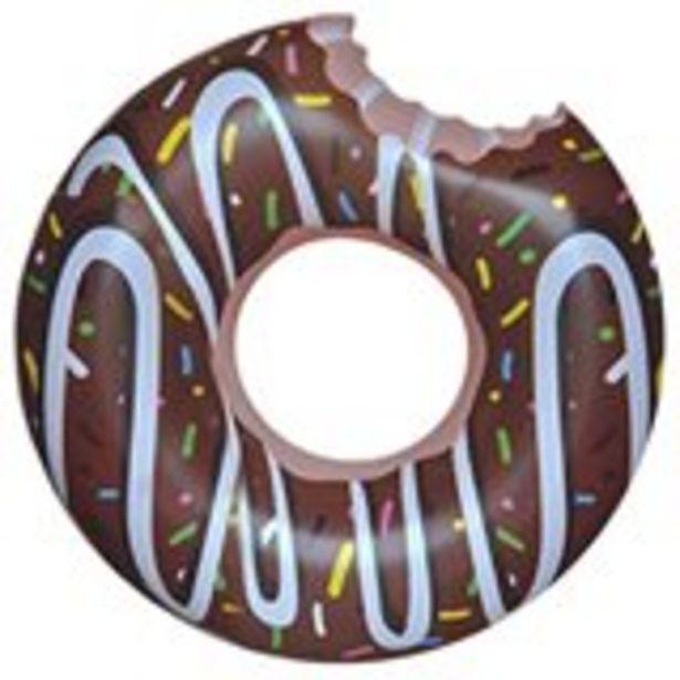 Oferta de Rueda hinchable Donut marrón por 5,99€